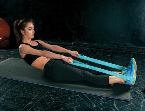 Эффективные упражнения с эластичной лентой
